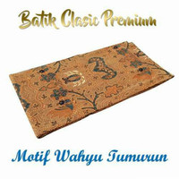 Kain batik jarik premium motif WAHYU TUMURUN Bahan halus adem nyaman