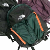 Tas The North Face Surge Backpack Green Black Original - BLACK GREEN, 28 L