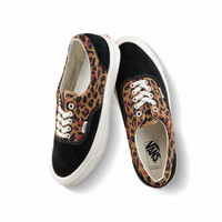 Sepatu Vans Vault OG Era LX Leopard Black Original