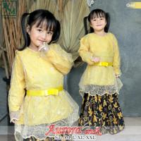Stelan baju kebaya Brukat anak modern Kebaya Anak Perempuan - 4