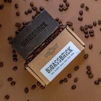 Natural Soap Bar - BIGASSBRICK 300g - Coffee Break - Republic of Soap