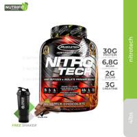 Muscletech Nitrotech 4lbs 4 lbs 4lb 4 lb Whey Protein - Milk Chocolate