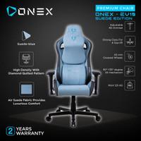 ONEX EV10 EVOLUTION SUEDE EDITION KURSI GAMING CHAIR - BLUE