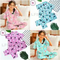 Piyama anak perempuan 3~9thn Katun Jepang Baju tidur anak perempuan
