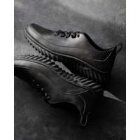 Sepatu Casual Kulit Pria - Winshor - Eliot CH Black