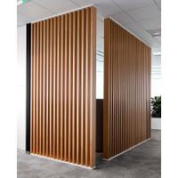 penyekat ruangan minimalis kayu jati