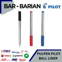 PULPEN PILOT BALLINER / BALLPOINT PILOT BALL LINER ( ECER MURAH ) - Hitam