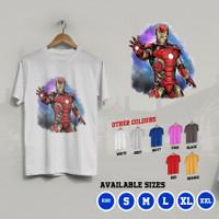 K/376 Kaos Iron Man Avengers Marvel Comics Tony Stark T-Shirt