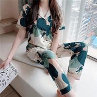 baju tidur piyama wanita import celana panjang lengan pendek