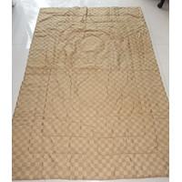 SALE bedcover / selimut single ukuran 140x200 jacquard katun rayon