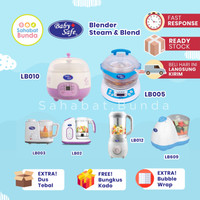 Babysafe Blender Steam & Blend / Baby Safe Food Maker Processor MPASI
