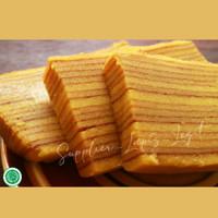 Kue Lapis Legit Original 20x10 Lembut Weisjman 100% Halal