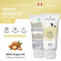 Attitude - Natural Stretch Oil - Almond & Argan