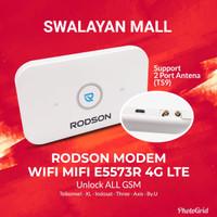 Modem RODSON Wifi Mifi E5573 4G Unlock All Operator GSM Support Antena