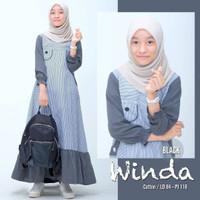 Gamis Anak Perempuan 12 tahun Baju Muslim Anak Murah WINDA 9-13 th