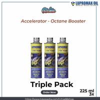 Lupromax Accelerator 225 Ml Penghemat BBM Octane Booster Paket 3 Pc