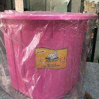 Bak mandi plastik pink walrus