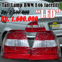stop lamp/ tail lamp bmw e46 facelift LED original BMW