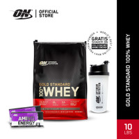 Optimum Nutrition 100% Gold Standard Whey 10Lbs Deouble Rich Choco