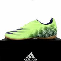 Sepatu Futsal Adidas X Ghosted 4 IN Signal Green EG8243 Original BNIB
