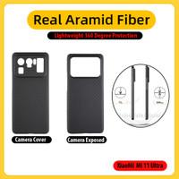 Case Xiaomi Mi 11 Ultra REAL ARAMID CARBON LightWeight (Bukan PITAKA)