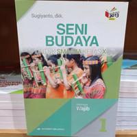 Wukon Buku Seni Budaya Wajib Sma Kelas 10 K13N Penerbit Erlangga