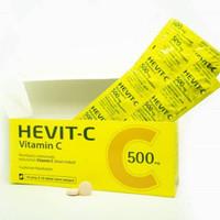 HEVIT C 500 MG TAB (3 STRIP)
