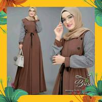 BRISA MAXI dress gamis murah baju hijab fashion muslim
