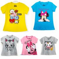 Kaos baju anak perempuan size 1 2 3 4 5 6 7 8 9 10 tahun #2295