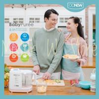 oonew Puree 6 in 1 Baby Food Processor Michelin Series Pink