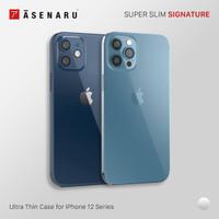 Asenaru iPhone 12/Mini/Pro/Max Clear Case Super Slim ClearFlex Casing