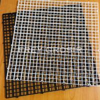 Egg Crate 30x30cm Coral Frag Rack Pembatas Sekat Aquarium Cover Ikan