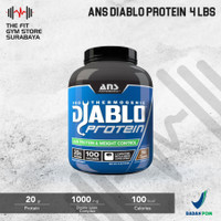 ANS Performance Diablo Protein 4 Lbs Whey Protein + Fat loss Formula