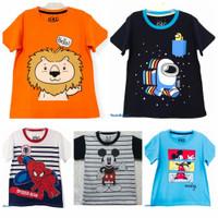 Kaos baju anak laki laki size 1 2 3 4 5 6 7 8 9 10 tahun #7804