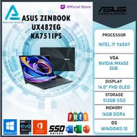 Asus Zenbook Pro Duo UX482EG KA751IPS Touch i7 1165G7 16GB 512ssd MX45