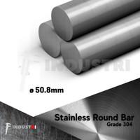 AS SUS 304 diameter 50.8mm ( 2 inch) |AS besi stainless per 1 cm