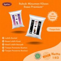 Bubuk Powder Drink Serbuk Minuman Aneka Rasa Boba Kiloan Premium 1