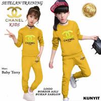 Baju Setelan Pakaian Olahraga Anak Perempuan CHNL KIDS 21538