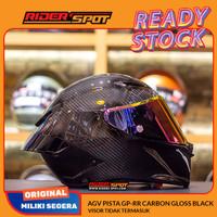 Helm Motor AGV Pista GP-RR Carbon Gloss Black Italy Original Touring