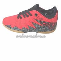 Sepatu Futsal Anak Sevenray Ronaldo jr Merah - Merah, 33