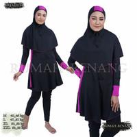 baju renang wanita muslim dewasa baju renang perempuan dewasa muslimah - Z 01, M
