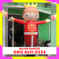 BALON SKY DANCER - BALON GOYANG PROMOSI - BALON + BLOWER 13 INCH