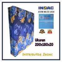 KASUR BUSA INOAC NO.1 TEBAL 20 CM ( BIRU 200 X 180 X 20 )