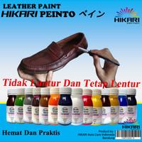 Leather Paint Cat Sepatu Tas Jaket Jok Mobil Bahan Kulit dan Sintetis