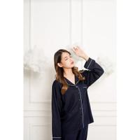 Baju Tidur Setelan Piyama Rayon Wanita PP Prilly LongSleeves Pajamas