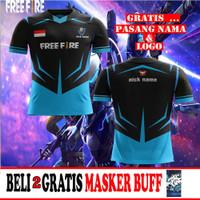 T Shirt/Baju/Kaos Jersey Free Fire Esport Gaming custom art 05