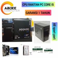CPU PC CORE I5 DDR 8 GB HDD 500 GB PC RAKITAN FOR OFFICE