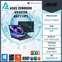 Asus Zenbook Pro Duo UX482EG KA711IPS Touch i7 1165G7 16GB 1TBssd MX45