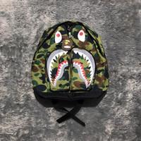 Tas Bape backpack ukuran pas Original unisex