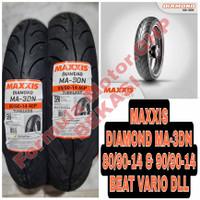80/90-14 & 90/90-14 Maxxis Diamond MA-3DN - Sepasang Ban Motor Ring 14